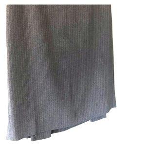 Ann Taylor pinstripe skirt